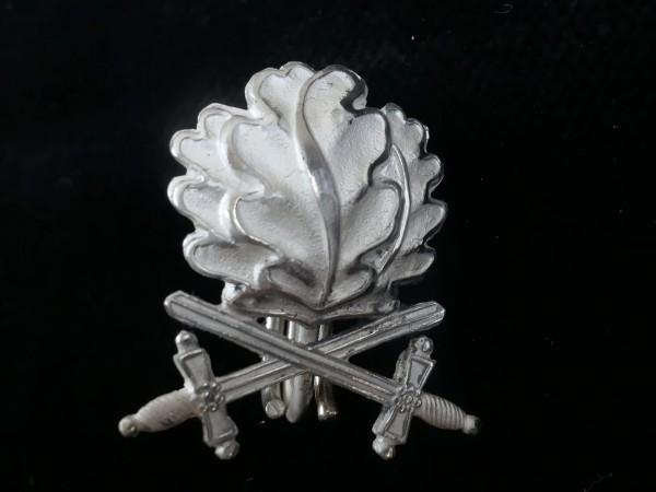 Eichenlaub mit Schwertern echt 800er Silber