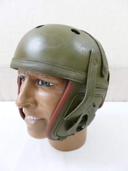 "US Army WW2 Tank helmet Panzer Helm ""Fury"" Tanker helmet M-1938 Panzerhelm Gr. 58-60"