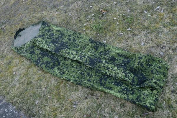 Dänemark Bivy Cover Bivibag (L) Sleeping Bag Biwaksack Schlafsackhülle Flecktarn