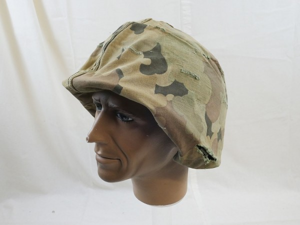 US Army Original Mitchell Helmet Cover Leaf Pattern Reverseable M1 Helmbezug Vietnam