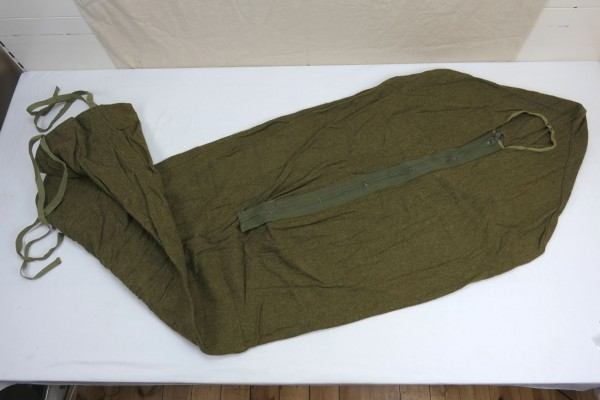 Original US Army Schlafsack Sleeping Bag Wool Wolle oliv #5