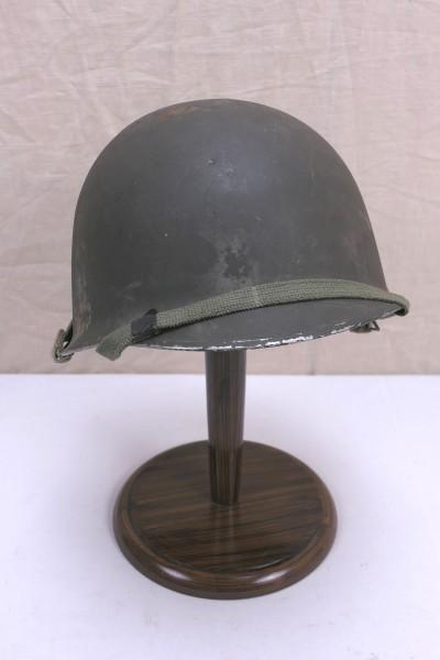 US Army Typ WW2 M1 helmet Stahlhelm komplett Glocke Innenhelm Kinnriemen
