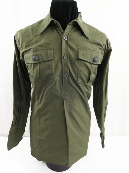 DAk Feldhemd Tropenhemd langarm Deutsches Afrika Korps Hemd schilfgrün