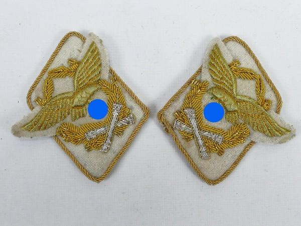 Wehrmacht Luftwaffe Kragenspiegel Generalfeldmarschall Hermann Göring