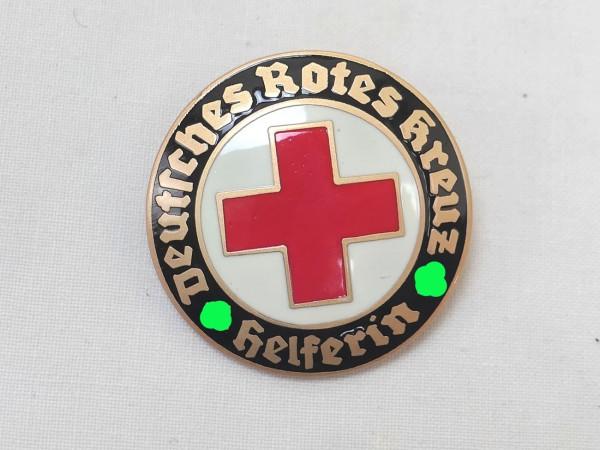 Deutsches Rotes Kreuz Abzeichen DRK Helferin an Nadel Dienstbrosche