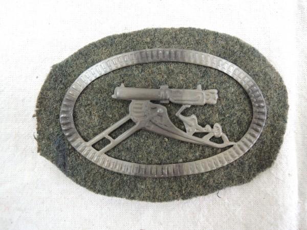 Ärmelabzeichen Maschinengewehr WK 1