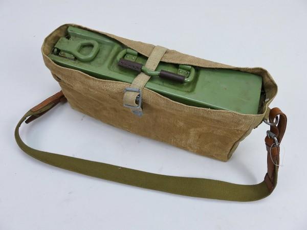 Set MG42 MG34 Patronenkasten Gurtkasten mit Tasche und Trageriemen