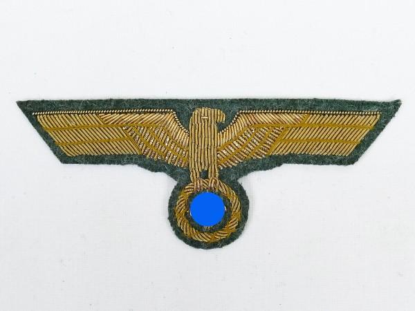 Wehrmacht General Brustadler M40 Goldfaden gestickt für Feldbluse Dienstrock Generalität