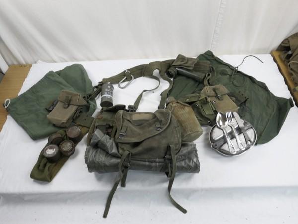 US Army M-1956 Vietnam Sturmgepäck - Umfangreiche Pistol Belt Ausrüstung Gepäck