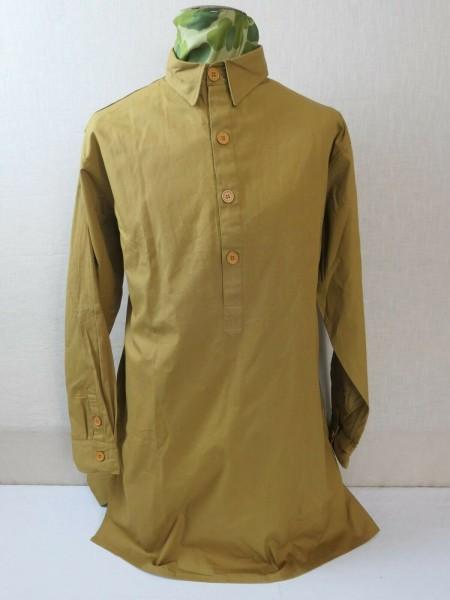 RZM Diensthemd Uniformhemd Braunhemd Feldhemd Uniform Hemd braun