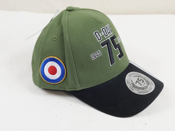 75 Jahre D-Day Normandie Cap Schirmmütze US