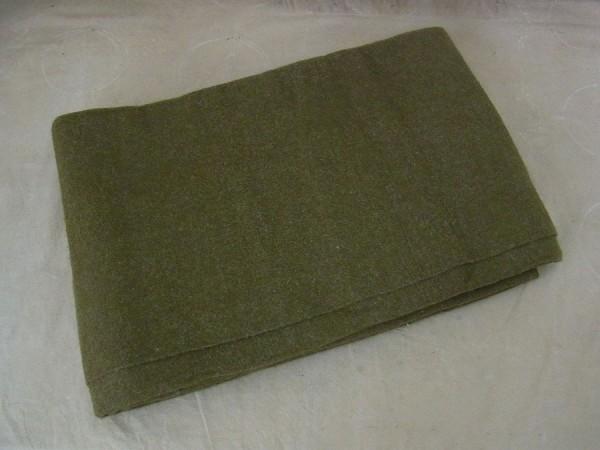US Army Wool virgin Blanket OD US Wolldecke