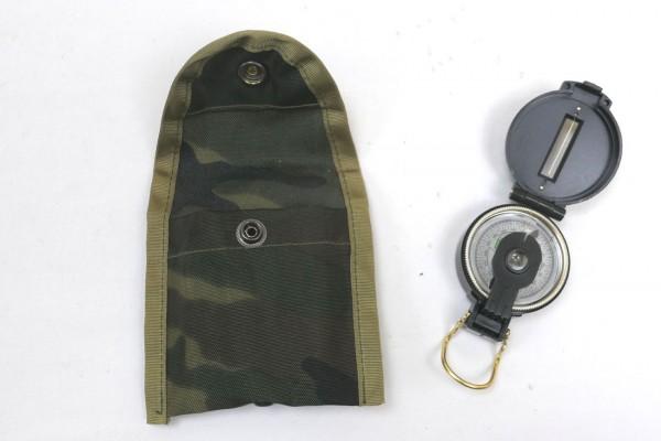 US Nylon Compass Case camou Kompasstasche mit Kompass Engineer