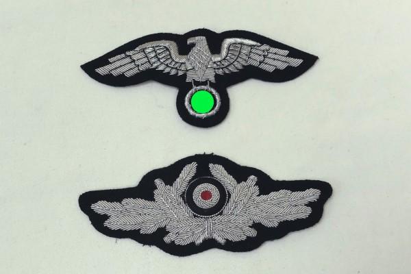 Mützenadler und Kokarde Offizier diplomatisches Korps