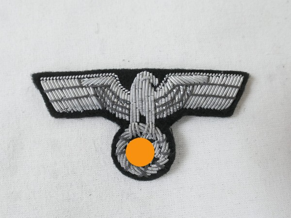 Wehrmacht Mützenadler Offizier Panzer Schirmmütze Feldmütze