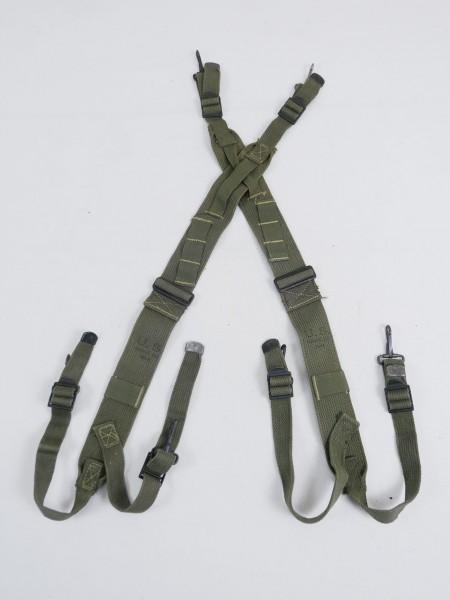 ORIGINAL WW2 US ARMY M1944 SUSPENDERS Koppeltragehilfe