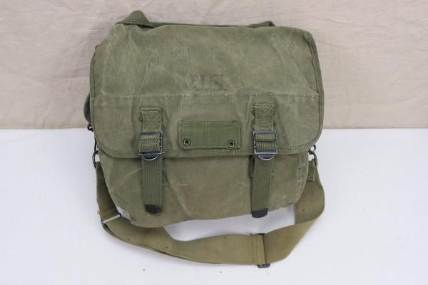 Original US WW2 MUSETTE BAG Field Bag Tasche Kampftasche Canvas