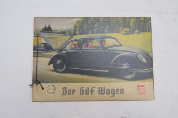KDF Wagen Broschüre Brezel Käfer Nostalgie Prospekt