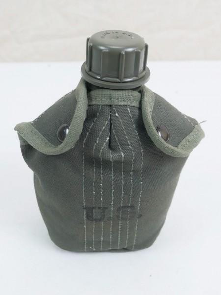 US ARMY Feldflasche + Feldflaschenbezug + Becher cover field canteen Vietnam