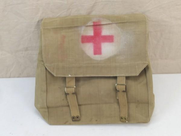 WW2 British Army red Cross bag großeSanitäter Tasche 1944 1945 Rotkreuz