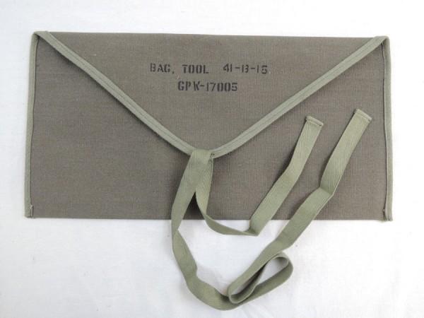 US Army Tool Bag Jeep MB, M201 Werkzeugtasche tool roll