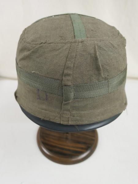 WW2 Helmbezug Helmtarnbezug dunkelgrün Fallschirmjägerhelm Luftwaffe FJ Stahlhelm M38