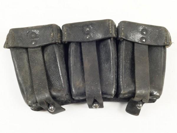 Wehrmacht original Patronentasche K98 schwarz