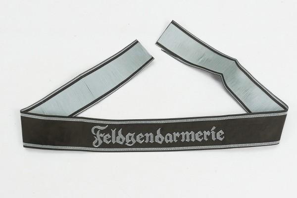 Wehrmacht Feldgendarmerie Ärmelband gewebt