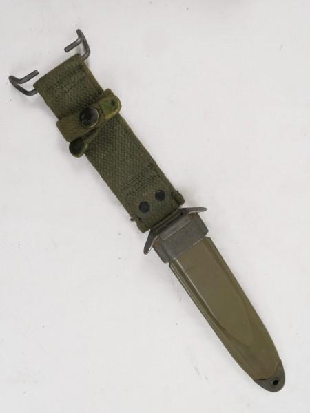 Original US M8A1 Scheide für M3 Bayonet Knife Scabbard Vietnam VIZ #11