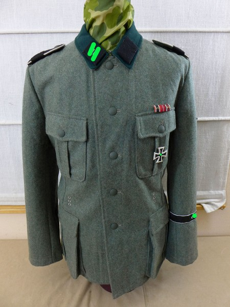Feldbluse M36 Waffen SS Dienstgrad SS Schütze der LAH