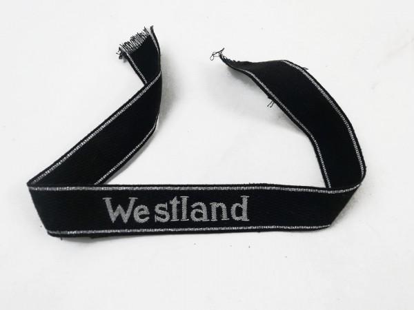 """Elite Ärmelband """"Westland"""" mit Silberfaden gestickt Ausführung für Offiziere"""