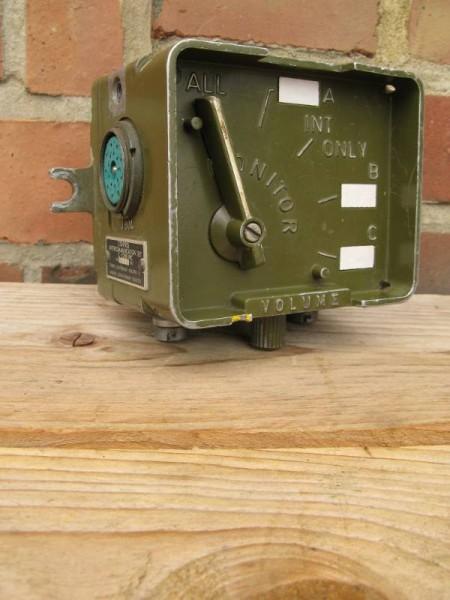 "Vehicle Communications Equipment ""Crewmember Control Box"" C-2298/VRC"