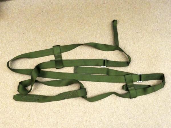 US Paratrooper body belt / Gurt zum Abseilen für Fallschirmjäger / Vietnam