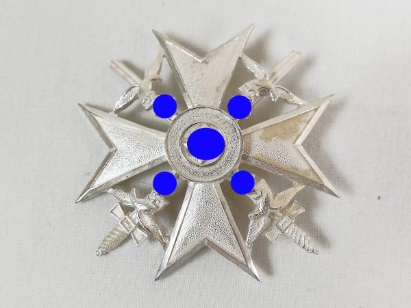 Spanienkreuz in Silber mit Schwertern Ehrenkreuz Legion Condor