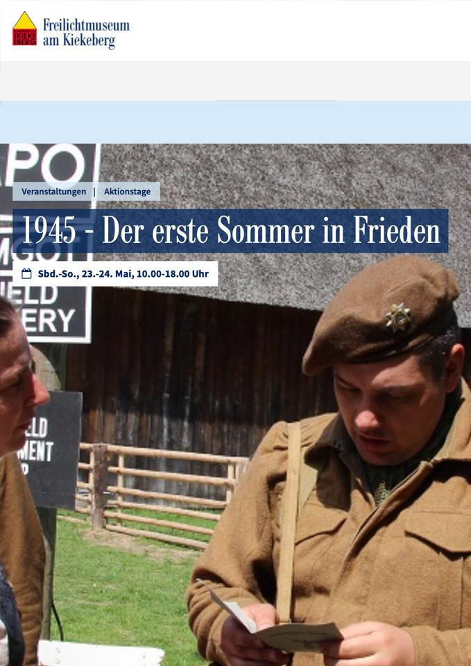 1945 - Der erste Sommer in Frieden