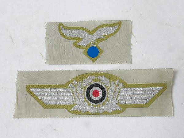 Satz Offiziers Effekten für Tropen Feldmütze Hermann Meyer Ramcke Brigade Fallschirmjäger Schirmmütz