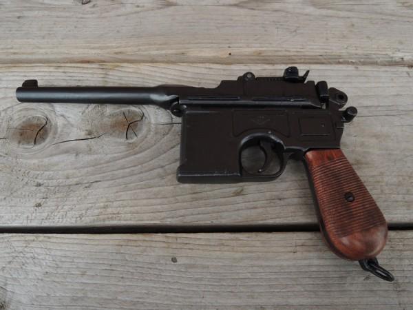 Pistole C96 Deko Modell Filmwaffe