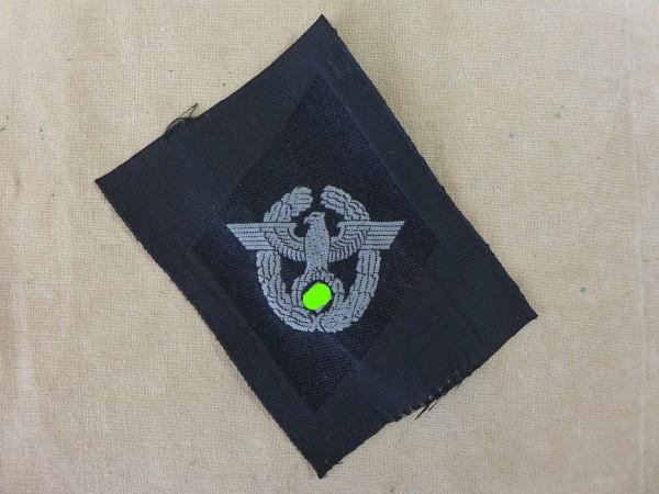Wehrmacht Polizei Ärmelraute für Führer als ehemalige Angehörige der Polizei / Ärmelabzeichen Raute