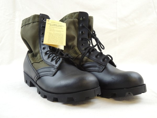 """US Army Dschungelstiefel """"Panama"""" oliv Jungle boots"""