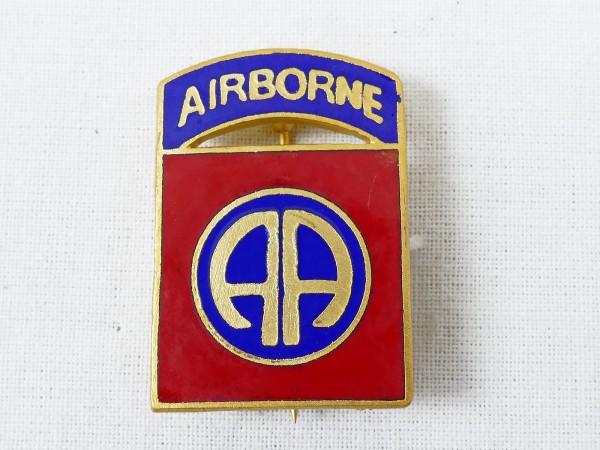 US WW2 Paratrooper 82nd Airborne Abzeichen emailliert an Nadel Pinn Anstecker