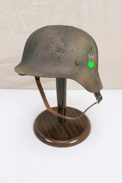 Wehrmacht camouflage DAK Tropen Stahlhelm M35 M40 DD Rauhtarn Tarnhelm Gr.57/58 #60