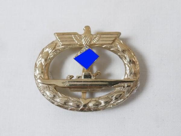 Kriegsmarine U-Boot Kriegsabzeichen mit Brillanten