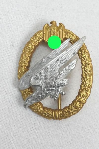 Wehrmacht Fallschirmschützenabzeichen des Heeres FJ