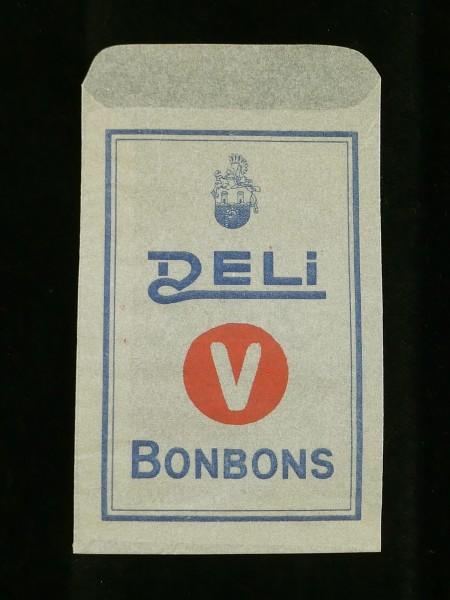 Wehrmacht Deli Bonbons Tütchen Verpackung Umschlag
