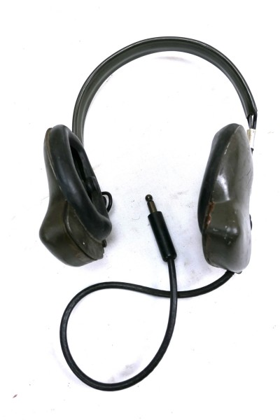 Original WW2 US Navy USN MX-239/U Radio Headset Headphones