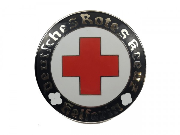 Deutsches Rotes Kreuz Helferin Abzeichen Emaille