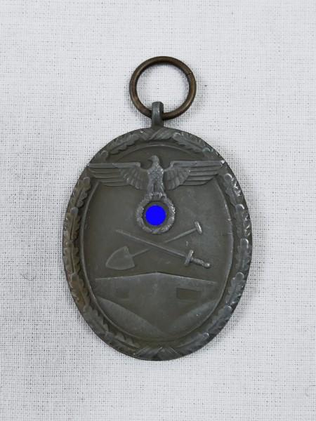Deutsches Schutzwall-Ehrenzeichen Westwall Medaille Für Arbeit zum Schutze Deutschlands