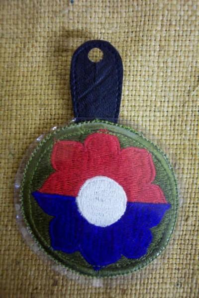 Brustanhänger Vietnam 9th Infantry Division Abzeichen