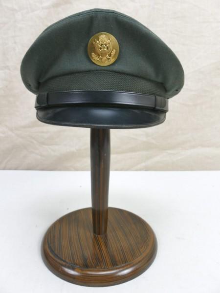 """US ARMY Vintage """"Elvis"""" Visor cap hat Schirmmütze Gr.6 3/4 Cap Service wool"""