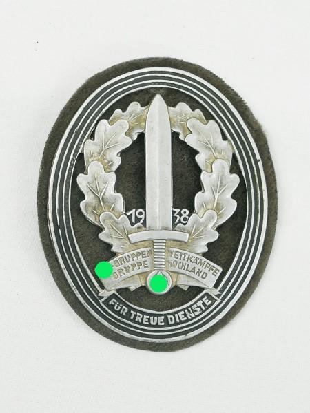 Veranstaltungsabzeichen Wettkampftage der SA-Gruppe Hochland 1938